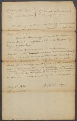 Legal Document, Delashmutts Lessee v. Edward Thomas