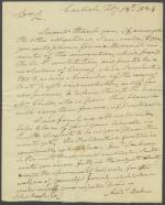 Letter from Andrew Boden to John Boyle