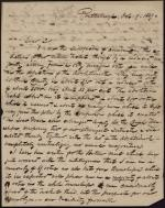 Letter from Thomas Williams to C. B. Penrose