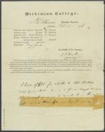 Report from John Durbin to John Rhoads