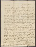 Letter from Thompson Ege to Oliver Ege