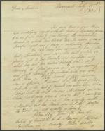 Letter from Charles Keith to Anne Nisbet