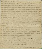 Letters from Charles Nisbet to Unknown Recipient