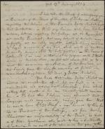 Letter from Ralph Bowie to John Montgomery