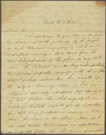 Letter from Thomas Hambly to James Hamilton