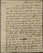 Letter from J. M. Thompson to James Hamilton