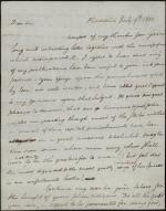 Letter from Benjamin Rush to Unknown Recipient