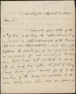 Letter from Richard Rush to John F. Watson