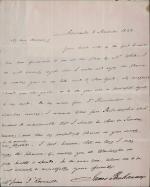 Letter from James Buchanan to Mrs. James I. Roosevelt