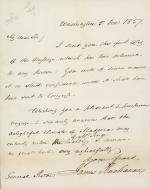 Letter from James Buchanan to Franklin Pierce