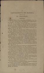 Catalog of Books Written by Joseph Priestley