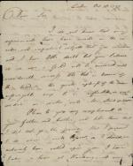 Letter from Joseph Priestley to Thomas Wedgwood
