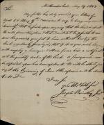 Letter from Joseph Priestley Jr. to John Beckley