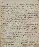Letter from Joseph Priestley Jr. to John Smith