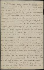 Letter from Joseph Priestley to the Duke of Northumberland