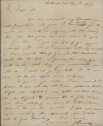 Letter from Joseph Priestley to Samuel Mitchill