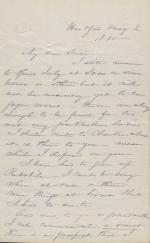 Letter from Harriet Beecher Stowe to Susie Howard