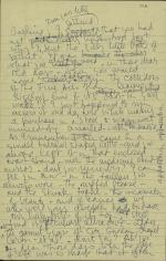 Letter from Allen Tanner to Margaret Anderson