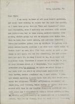 Letter from Allen Tanner to Dick Fletcher