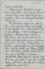 Letter from Robert Tanner to Allen Tanner