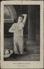 """""""Mary Garden as Salome"""" clipping from unknown publication"""