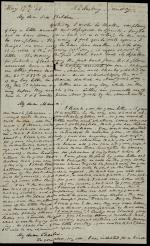 Letter from William Wilkins to His Children