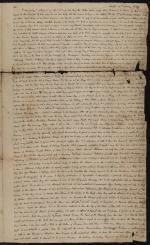 Letter from Charles Nisbet to Jonathan Ingham