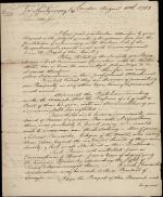 Letter from William Bingham to John Montgomery