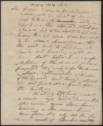 Letter from Hugh Henry Brackenridge to James Hamilton