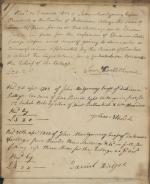 Receipt book of John Montgomery