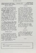 The Daily Senator (Fall 1958)