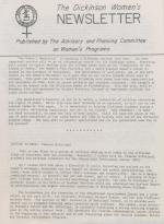 Dickinson Women's Newsletter (c.1975)