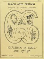 """Expressions in Black"": Black Arts Festival 1982"