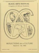 """""""Reflections on a Culture"""": Black Arts Festival 1984"""