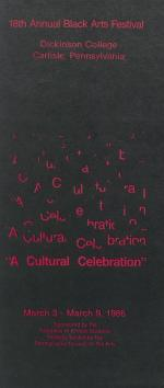 Black Arts Festival 1986