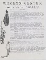 Women's Center Newsletter (Mar. 1984)