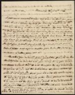 Letters from Roger B. Taney and Jane Shaaff to Arthur Shaaff