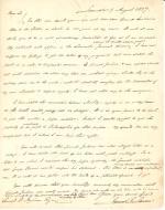 Letters from James Buchanan to Samuel Ingham