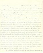 Letters from James Buchanan to Thomas L. Hamer