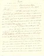 Letter from James Buchanan to William W. McKean