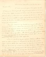 Letter from James Buchanan to Robert Flenniken