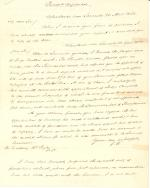 Letter from James Buchanan to William L. Hirst