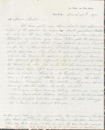 Letters from George Lawrence to Spencer Baird (Drafts)