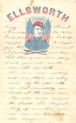 Letters from John Cuddy (Sept. - Dec. 1861)