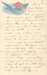 Letters from John Cuddy (Jan. 1862)