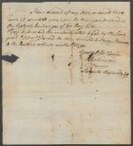 Letter from John Dickinson to Samuel C. Morris