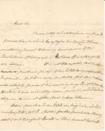 Letter from John Dickinson to James Wilson