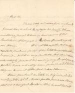 Letter from John Dickinson to James Wilson