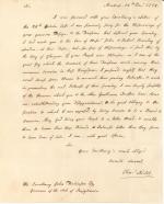 Letter from Charles Nisbet to John Dickinson