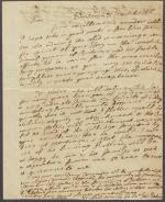 Letter from John Erskine to John Dickinson